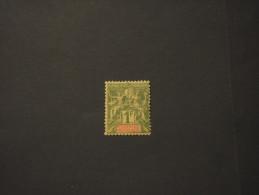 NOUVELLE CALEDONIE - 1892 PITTORICA 1 F. - NUOVO(+) - Ungebraucht