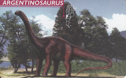 ARGENTINA(chip) - Argentinosaurus, Telefonica Telecard(F 56), 05/97, Used - Schede Telefoniche
