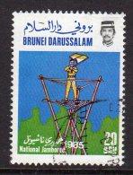 BRUNEI - 1985 20c SCOUT JAMBOREE SG369 FINE USED - Brunei (1984-...)