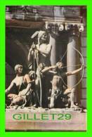 NORTH AMERICAN INDIAN - BRONZE DE LOUIS-PHILIPPE HÉBERT - HALTE DANS LA FORÊT - - Indiens De L'Amerique Du Nord
