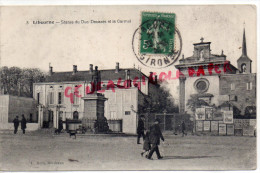 33 - LIBOURNE - STATUE DU DUC DECAZES ET LE CARMEL - Libourne