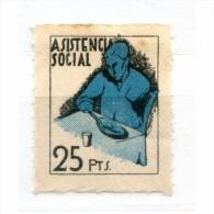 España, Guerra Civil, Asistencia Social, 25p, GG2485, **, Manchitas - Viñetas De La Guerra Civil