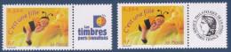 France, 2004, Timbres Personnalisés,C´est Une Fille,n°3634A,**, Les 2 (1607/10) - France