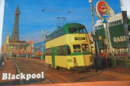 Tramway Blackpool - Strassenbahnen