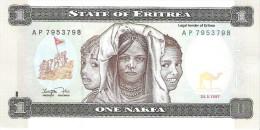 Eritrea - Pick 1 - 1 Nakfa 1997 - Unc - Eritrea