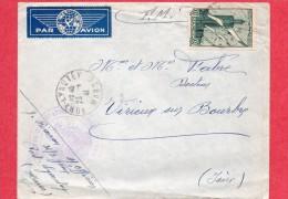 F.M1941-Cachet TROUPES D'OCCUPATION DU MAROC-31/3 GENIE-lettre De Fort Lyauté Pour Virieux Sur Bourbre-38 - Marcophilie (Lettres)