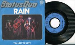 """Status Quo""""45t Vinyle""""Rain""""France - Disco, Pop"""