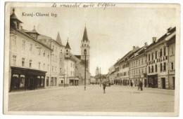 Kranj-Glavni Trg Pace Du Marché  1929 - Slovénie