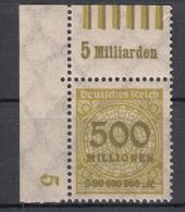 Deutsches Reich -  Mi. 324a W OR ** - Ungebraucht
