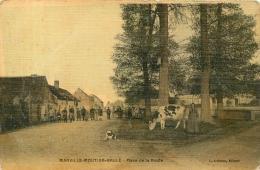 MARVILLE MOUTIER BRULE PLACE DE LA ROUTE  TOILEE COULEUR EDITION  LOISEAU - Other Municipalities