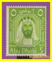 ABU DHABI  -  -  SELLO - 1964 - Arabia Saudita
