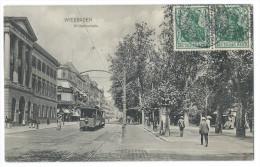WIESBADEN (Allemagne)  - Wilhelmstrasse - Tramway - Wiesbaden