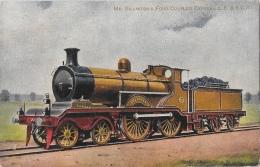 Mr. Billinton's Four Coupled Express L.B. & S.C.R. - Illustration - Carte Non Circulée - Trains