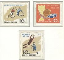 KOREA Perforated Set Mint Without Hinge - 1966 – Inglaterra