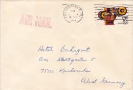 Brief Nach Deutschland (n001) - Covers & Documents