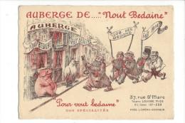 """Paris Auberge De .... """"Nout Bedaine""""  Club Des Bedons - Hotels & Restaurants"""