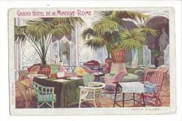 Rome Grand Hôtel De La Minerve Jardin D'hiver - Hotels & Restaurants