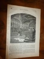 1847 MP Salle D'audience Du Collège Du Change à Pérouse (dessin De Frappas Et Freemann; Les Sauriens Des îles GALAPAGOS - 1800 - 1849