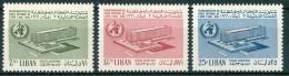 1966 Libano Lebanon Sanità Santé Set MNH** - Lebanon