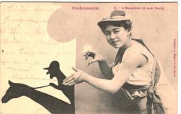 Ombromanie - L´ecuyère Et Son Dada - Bergeret - N° 4 - 2 Scans - Fantasia