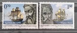 Bosnia And Herzegovina, Republic Of Srpska, 2009, Mi: 452/53 (MNH) - Bosnia And Herzegovina
