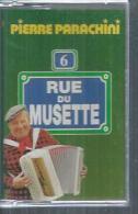 """K7 Audio - PIERRE PARACHINI  """" 6 RUE DU MUSETTE  """" 25 TITRES  ( ACCORDEON ) - Cassettes Audio"""
