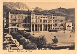 "03607 ""CARRARA - POLITEANA G. VERDI"" ANIMATA, TRAMWAY.  CART.  SPED. 1963 - Carrara"