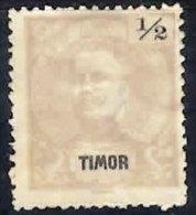 TIMOR 1898 Definitives Perf 12.5 0.5c Mint - Timor