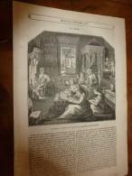 1847 MP Rapport Sur La Canonnière LA MALOUINE Sur Son Circuit En Afrique; Grav Etablissements Français(Guinée, Gabon); - 1800 - 1849