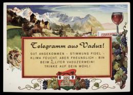 [003] 'Telegramm Aus Vaduz', ~1980, Liechtenstein - Liechtenstein