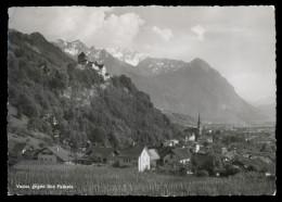 [003] Vaduz Gegen Den Falknis, ~1950, Liechtenstein, Gaberell (Thalwil) - Liechtenstein