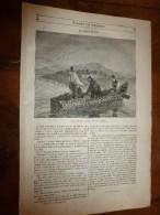 1847 MP Les PIERRES DRUIDIQUES Dans Le Champ De Carnac (Morbihan) ; Le Château De BLANQUEFORT Près De Bordeaux; Etc.. - 1800 - 1849