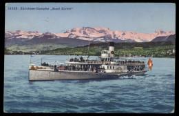 [003] Zürichsee-Dampfer 'Stadt Zürich', 1923 - Paquebote