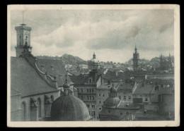 [003] Lemberg - Lwów - Lwiw, Altstadt, Gel. 1942 Nach Graz, Foto M. Watorek, Druckerei Nr. 1 (Lemberg) - Ukraine
