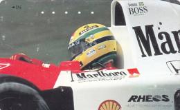 Japan Tamura 50u 110-011 Car Ayrton Senna Formula 1 Shell - Automobili