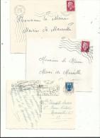 9 L Pour étude Des Oblitérations...à Voir... - Marcofilia (sobres)