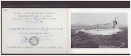 FORMAT 10x15 - LAUSANNE - LA PLONGEE DU SOUS MARIN AUGUSTE PICCARD LORS DE L'EXPO 1964 - TB - VD Vaud