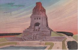 AK Leipzig - Völkerschlachtdenkmal - Künstlerkarte - 1912 (20957) - Leipzig