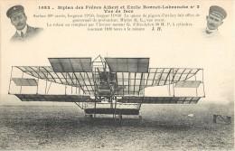 BIPLAN DES FRERES ALBERT ET EMILE BONNET-LABRANCHE N°2 AEROPLANE + CACHET AERODROME DE JUVISY PORT-AVIATON PLANE AVION - ....-1914: Précurseurs