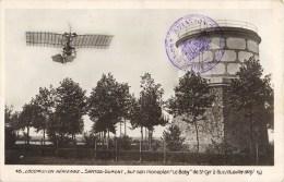 """L'AVIATEUR SANTOS DUMONT SUR MONOPLAN """" LE BABY """" A SAINT-CYR-A-BUC AEROPLANE AVIATION PLANE AVION - Aviation"""
