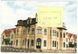 SWA - NAMIBIA - 1999 - Das Hohenzollernhaus In Swakopmund, Erbaut 1905 - Leopard - Airmail - Viaggiata Per Hannover, ... - Namibia