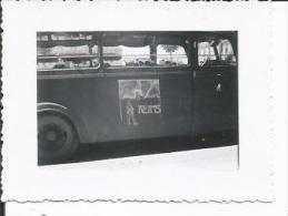 51 REIMS PHOTO ALLEMANDE 1940/1944 Autobus - Photos