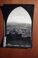 9435 ENNA - DAL CASTELLO DI LOMBARDIA: I MONTI E CALASCIBETTA - Enna