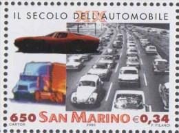 Truck  Car Automobile MNH San Marino - Camion