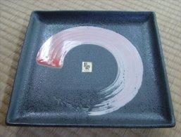Japanese Ceramic Plate - Ceramics & Pottery