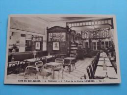 Café Du Roi ALBERT M. Thomas Tél 11 Lourdes ( Photo Durand ) Anno 19?? ( Zie Foto´s Voor Details ) !! - Lourdes