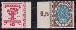 Allemagne 1919-1920 N°Y.T. :  106 Et 107 ** - Allemagne