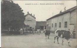 CP  - 77 - Clugny - Entrée Principale De La Ferme Dos 10 Septembre 1916. - Francia