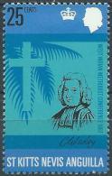 Saint Christopher 1970 - Charles Wesley ( Mi 179 - YT 200 ) MH* - St.Christopher-Nevis-Anguilla (...-1980)