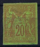 Colonies Générales: Yv Nr 42 ,   MH/*, Avec  Charnière , Mit Falz  Has A Thin Spot
